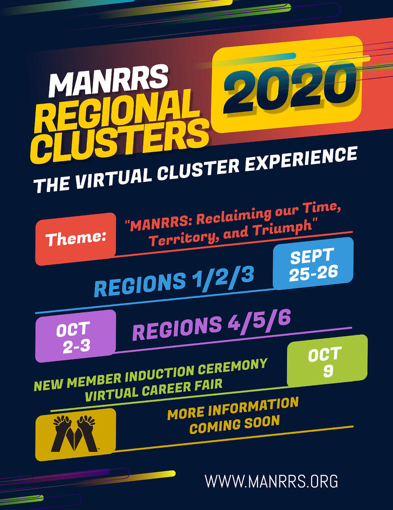 2020 Regional Cluster Save The Date Flyer